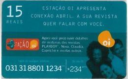 PREPAID PHONE CARD BRASILE (U.36.7 - Brazil