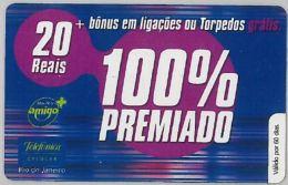 PREPAID PHONE CARD BRASILE (U.37.2 - Brazil