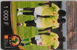 PREPAID PHONE CARD SENEGAL ORANGE (U.37.7 - Senegal