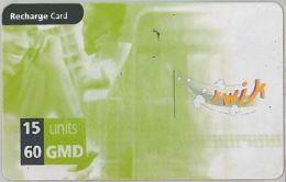 PREPAID PHONE CARD GANBIA (U.38.2 - Gambia