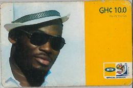 PREPAID PHONE CARD GHANA (U.38.4 - Ghana