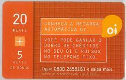 PREPAID PHONE CARD BRASILE (U.39.1 - Brazil