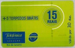 PREPAID PHONE CARD BRASILE (U.39.2 - Brazil