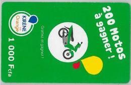 PREPAID PHONE CARD SENEGAL ORANGE (U.39.4 - Senegal