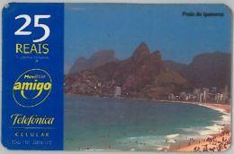 PREPAID PHONE CARD BRASILE (U.40.2 - Brazil