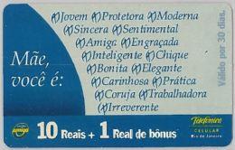 PREPAID PHONE CARD BRASILE (U.40.3 - Brazil