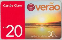 PREPAID PHONE CARD BRASILE (U.40.7 - Brazil