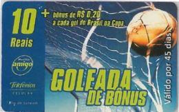 PREPAID PHONE CARD BRASILE (U.40.8 - Brazil
