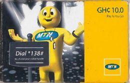PREPAID PHONE CARD GHANA (U.41.3 - Ghana
