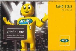 PREPAID PHONE CARD GHANA (U.41.5 - Ghana