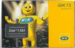 PREPAID PHONE CARD GHANA (U.41.6 - Ghana