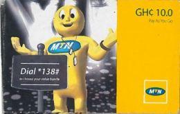 PREPAID PHONE CARD GHANA (U.41.7 - Ghana