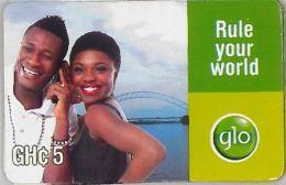 PREPAID PHONE CARD GHANA (U.41.8 - Ghana