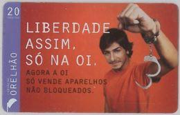 PREPAID PHONE CARD BRASILE (U.50.7 - Brazil