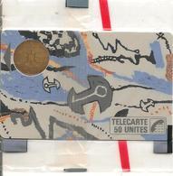 CARTE-PUBLIC-1987-F 16-BUL1-50U-CLE DE LUNE-NSB-TB E-LUXE - France