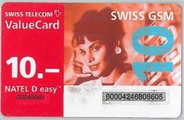 PREPAID PHONE CARD SVIZZERA (U.51.2 - Switzerland