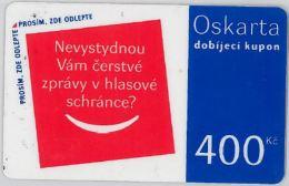 PREPAID PHONE CARD REP.CECA (U.51.8 - Czech Republic