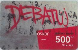 PREPAID PHONE CARD REP.CECA (U.52.1 - Czech Republic