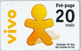 PREPAID PHONE CARD BRASILE (U.52.8 - Brazil