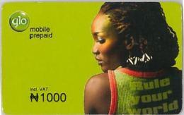 PREPAID PHONE CARD NIGERIA (U.53.3 - Nigeria