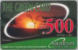 PREPAID PHONE CARD KENIA NEW IN BLISTER (U.53.4 - Kenya
