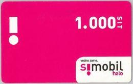 PREPAID PHONE CARD SLOVENIA (U.54.3 - Slovenia