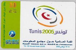 PREPAID PHONE CARD TUNISIA (U.56.4 - Tunisia