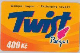 PREPAID PHONE CARD REP. CECA (U.56.5 - Czech Republic