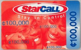 PREPAID PHONE CARD GHANA (U.59.1 - Ghana