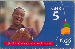 PREPAID PHONE CARD GHANA (U.59.2 - Ghana