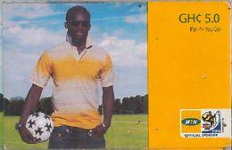 PREPAID PHONE CARD GHANA (U.59.4 - Ghana