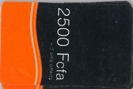 PREPAID PHONE CARD SENEGAL ORANGE (U.59.5 - Senegal