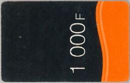 PREPAID PHONE CARD SENEGAL ORANGE (U.59.7 - Senegal