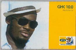 PREPAID PHONE CARD GHANA (U.60.2 - Ghana