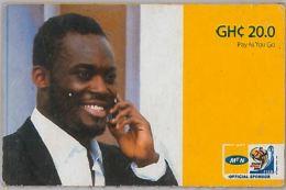 PREPAID PHONE CARD GHANA (U.60.3 - Ghana