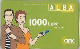 PREPAID PHONE CARD ALBANIA  (U.60.4 - Albania