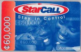 PREPAID PHONE CARD GHANA (U.60.5 - Ghana