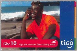 PREPAID PHONE CARD GHANA (U.60.7 - Ghana