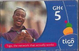 PREPAID PHONE CARD GHANA (U.60.8 - Ghana