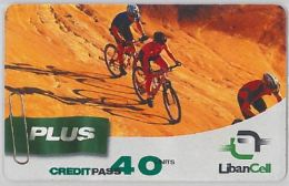 PREPAID PHONE CARD LIBANO (U.62.7 - Lebanon