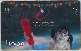 PREPAID PHONE CARD EGITTO (U.63.7 - Egypt