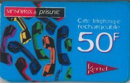 PREPAID PHONE CARD FRANCIA (U.64.2 - France