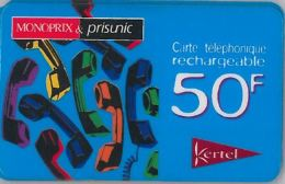 PREPAID PHONE CARD FRANCIA (U.64.3 - France