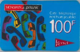 PREPAID PHONE CARD FRANCIA (U.64.4 - France