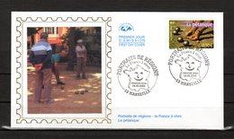 """FRANCE 2003 """" LA PETANQUE  """" Sur Enveloppe 1er Jour De 2003  N° YT 3564. Parfait état. FDC - Bowls"""