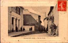 CPA - AUDE - Villasavary - Rue Des Ecoles - France