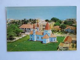C.P.A. COLOMBIA : CARTAGENA : Ermita Del Cabrero Y Casa De Rafael Nunez, Vista Aerea - Colombia