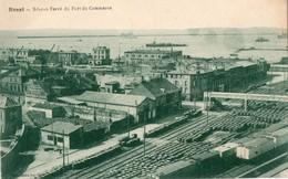 29. CPA.  BREST.  Réseau Ferré Et Port De Commerce. - Brest