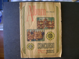 URUGUAY - ALBUM THE COMMEMORATIVE COUNTRY TO THE 75TH ANNIVERSARY OF THE ATLETICO PENAROL CLUB IN THE STATE - Figurines