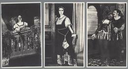 Cinema: Triboulet 1923 Febo Mari - 3 Cartoline, Non Viaggiate, FPP - Attori